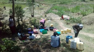 The Water Project : 8-kenya4725-washing-clothes