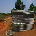 The Water Project: Royema, New Kambees -  Latrine