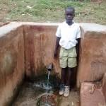 The Water Project : 9-kenya4663-pupil-at-muluwanda-spring