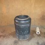 The Water Project: Emukangu Primary School -  Water Storage Container In Kitchen