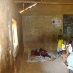 The Water Project: Emulakha Primary School -  Sick Children Lying In The Back Of Class