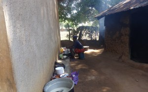 The Water Project:  School Cook Working