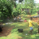 The Water Project: Kidinye Community, Wamwaka Spring -  Training