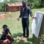 The Water Project : 1-kenya4715-field-officer-erick-wagaka-facilitating-training