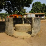 The Water Project: Kasongha Community, 16 Komrabai Road -  Seasonal Well