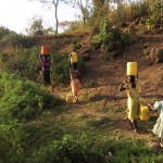 The Water Project: Shitoto Community A -  Walking For Dirty Water