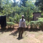 The Water Project: Elunyu Community, Saina Spring -  Mr Francis Oluda At His Home