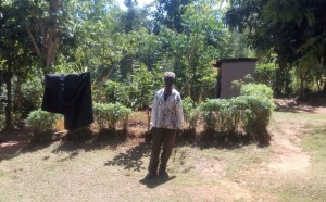 The Water Project:  Mr Francis Oluda At His Home