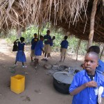 The Water Project: Gbaneh Bana SLMB Primary School -  Kitchen