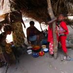 The Water Project: Kasongha Community, 16 Komrabai Road -  Outdoor Kitchen