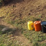 The Water Project: Shitoto Community A -  Water Containers
