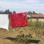 The Water Project: Irenji Community -  Clothesline