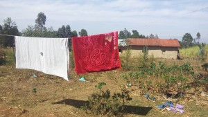 The Water Project : 11-kenya4744-clothesline