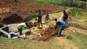 The Water Project:  Committee Helping Dig Trenches