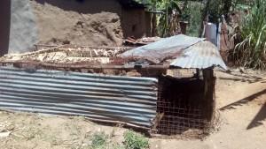 The Water Project : 12-kenya4739-chicken-coop