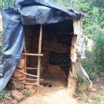 The Water Project: Shitoto Community A -  Traditional Latrine