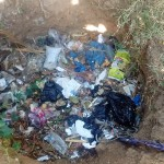 The Water Project: Isese Community -  Garbage Pit