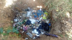 The Water Project : 12-kenya4745-garbage-pit