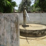 The Water Project: Gbaneh Bana SLMB Primary School -  Dry Well