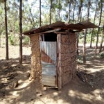 The Water Project: Shikoti Community B -  Latrine