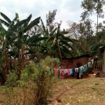 The Water Project: Mukhuyu Community, Shikhanga Spring -  Clothesline