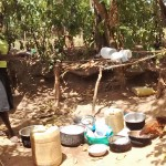 The Water Project : 13-kenya4742-washing-utensils