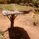 The Water Project: Futsi Fuvili Community A -  Dish Rack