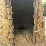The Water Project: Elukho Community -  Latrine