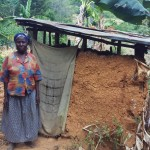 The Water Project: Shitoto Community A -  Rodah By Her Latrine