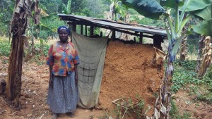 The Water Project:  Rodah By Her Latrine