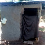 The Water Project: Elunyu Community, Saina Spring -  Latrine And Hand Washing Station