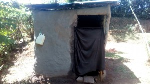 The Water Project:  Latrine And Hand Washing Station