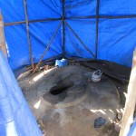 The Water Project: Kasongha Community, 16 Komrabai Road -  Latrine