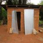 The Water Project: Ernest Bai Koroma Secondary School -  Latrine
