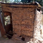 The Water Project: Handidi Community, Matunda Spring -  Latrine