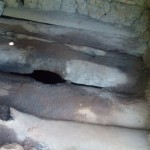 The Water Project: Elunyu Community -  Latrine Floor