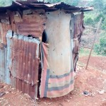 The Water Project: Simuli Community, Lihala Sifoto Spring -  Latrine