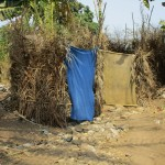 The Water Project: Kasongha Community, 16 Komrabai Road -  Bathing Shelter