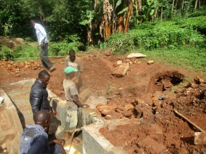The Water Project:  Backfilling Process