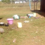 The Water Project : 17-kenya4738-clothes-scattered-around