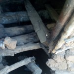 The Water Project: Handidi Community B -  Dangerous Latrine Floor