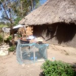 The Water Project: Lutonyi Community -  Improvised Dish Rack