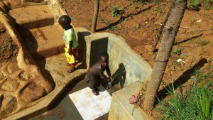 The Water Project:  Orphans Tracy And Davy Fetch Water