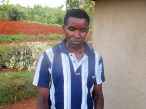 The Water Project:  Mr David Chagusha Isabwa