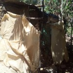 The Water Project: Handidi Community B -  Bathing Shelter