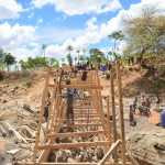 The Water Project: Mbuuni Community -  Construction