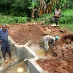 The Water Project: Mutambi Community -  Construction