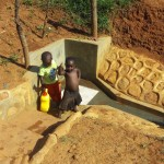 The Water Project: Shitaho Community B -  Fetching Clean Water