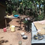 The Water Project: Elunyu Community, Saina Spring -  Dish Rack