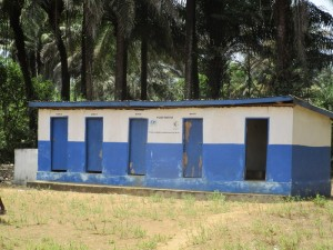 The Water Project:  School Latrine